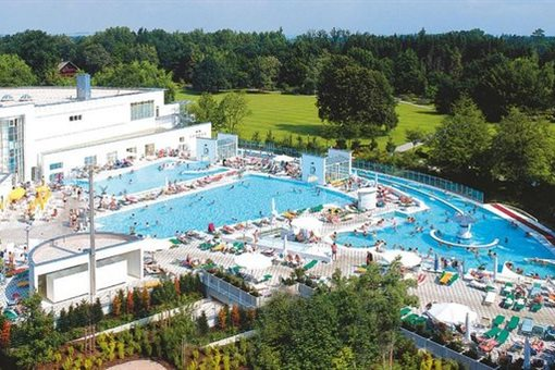 Bad Füssing, Europa Therme - trasa 1